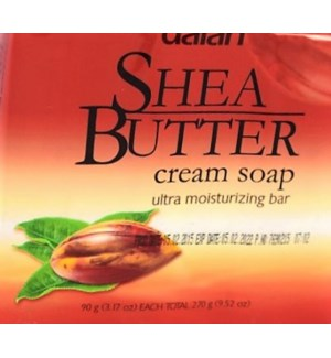 DALAN #13444 SHEA BUTTER BAR SOAP