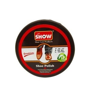 SHOE PASTE #CH12008 DARK BROWN