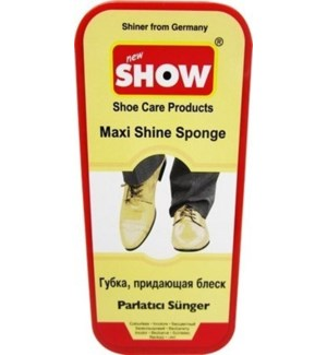 SHOE SPONGE #CH12015 NEUTRAL MAXI SHINE