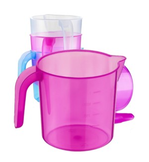 PLASTIC MEASURING CUP #TR88036 TRANSPARENT