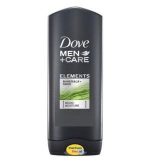 DOVE BODY FACE WASH #0976 MINERAL SA
