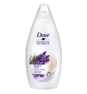 DOVE BODY WASH #735 RELAXING LAVENDER OIL
