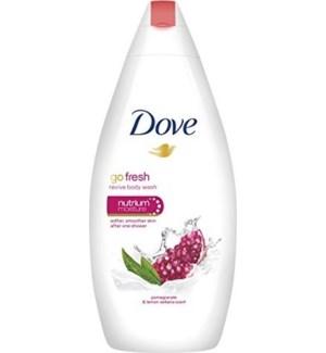 DOVE BODY WASH #65499 REVIVE POMEGRANATE