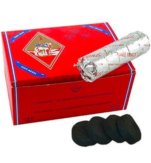 THREE KING HOOKAH CHARCOAL
