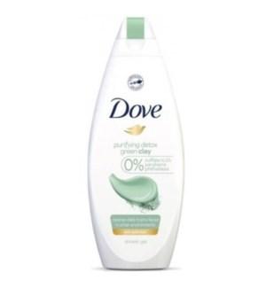 DOVE BODY WASH #5075 PURIFYING DETOX