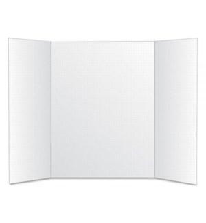BAZIC #5033 WHITE TRI-FOLD BOARD