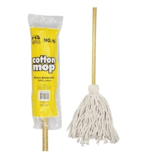 DECK MOP #GM04812 W/WOOD HANDLE GLOBAL