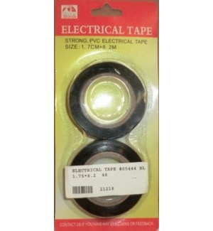 ELECTRICAL TAPE #05444 2PK BLACK