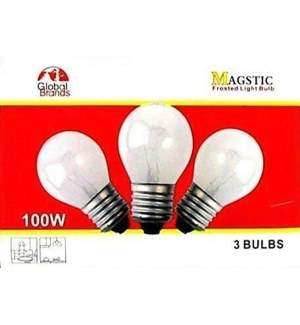 LIGHT BULBS #08063 3PK  LIGHTS