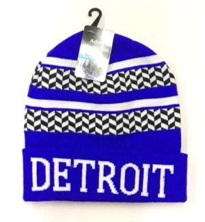 WINTER HAT #10070 DETROIT