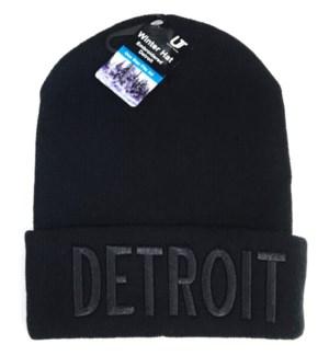 WINTER HAT #33002B DETROIT