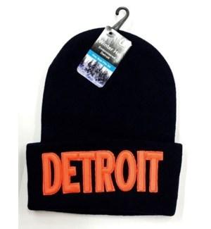 WINTER HAT #33100 DETROIT