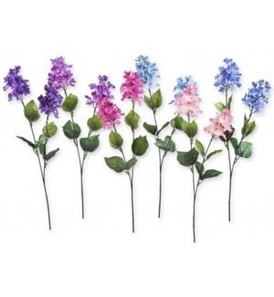 FLOWERS #6025 WILD FLOWER LILAC  X2