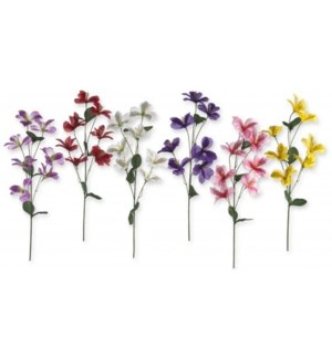 FLOWERS #6066 SPRING SINGLE PEONY STEM