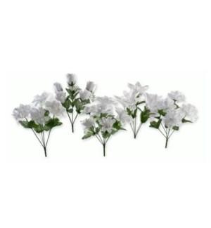 FLOWERS #10574 WHITE BUSH