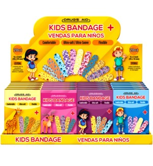 KIDS BANDAGES #CH11098 PRINTED