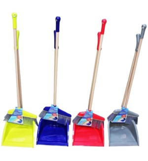 BROOM #CH26715 W/LONG DUSTPAN