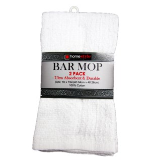 BAR MOP #PA76367 WHITE