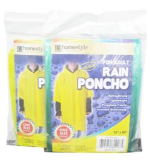 ADULT RAIN PONCHO #CH81907