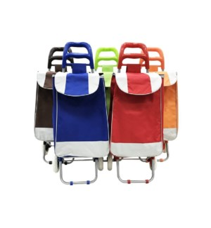 ROLLING SHOPPING CART #CH82142 PLAIN