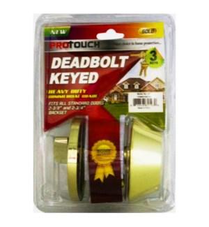 DEADBOLT #CH82193 KEYED OUTSIDE DOOR LOC