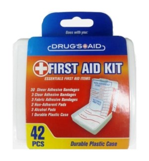 FIRST AID KIT #CH86198 ASST