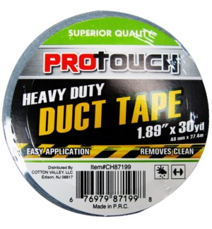 DUCT TAPE #CH87199 GRAY HVY DUTY