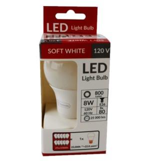 LED #CH87491 LIGHT BULB, SOFT WHITE