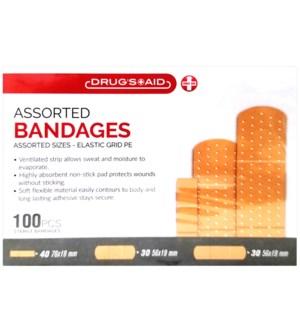BANDAGES #CH89039 ASST BANDAID