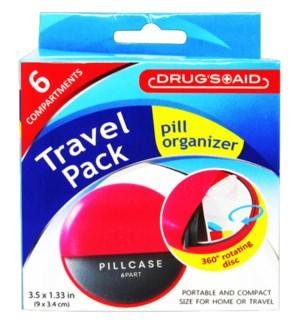 PILL ORGANIZER #CH89140 TRAVEL PACK