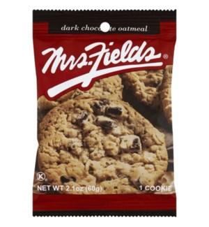 MRS.FIELDS COOKIES #50034 DARK CHOCOLATE OATMEAL