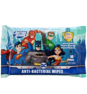 JUSTICE LEACUE #87413 ANTI BACTERIAL WIPES