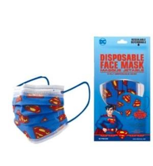 BOY DISPOSABLE #4509 MASK SUPERMAN