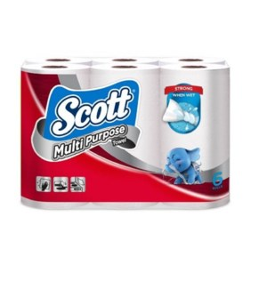 SCOTT MINI PAPER TOWLES #9759