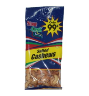 STONE CREEK NUTS #SC9901 SALTED CASHEWS