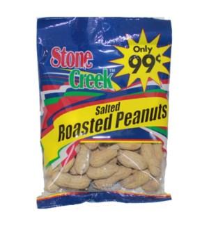 STONE CREEK NUTS #SC9931 PEANUT JUMBO SALTED