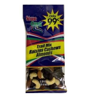 STONE CREEK NUTS #SC9939 RAISINS CASHEWS ALMOND