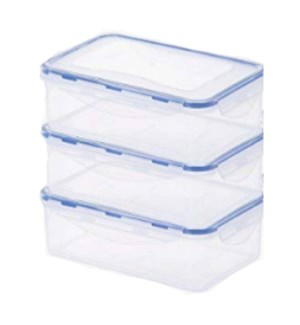 DO #2033 CLIP CONTAINER W/LID, RECTANGULAR