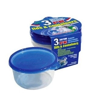 DO #2152 3PK FOOD CONTAINER/ROUND