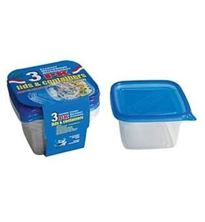 DO #2155 3PK FOOD CONTAINER