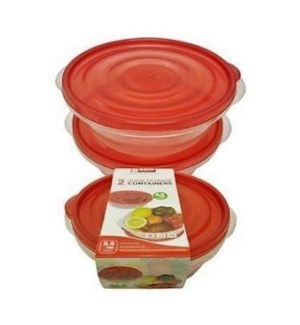 DO #2175 STORAGE CONTAINERS ROUND