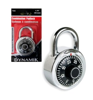 DYNAMIK #A7535 COMBINATION PAD LOCK