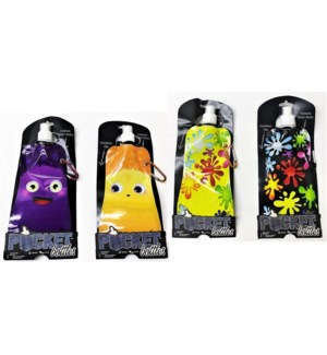 WATER BOTTLE #123098 FOLDABLE POCKET BPA FREE
