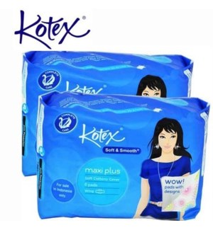 KOTEX #80564 HEALTHY PROTECTION W/WINGS