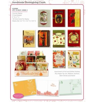 TH'GIVING #IG50080 GREETING CARDS D.