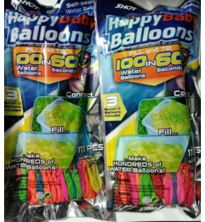 WATER BALLOONS #29000 SELF SEALING