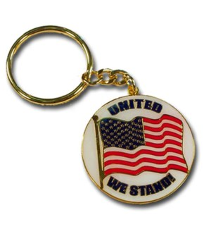 USA KEYCHAIN/UNITED WE STAND