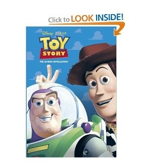 TOY STORY BOOK #26053 JUNIOR NOVELIZATIO