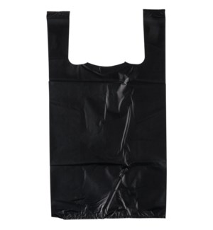 T SACK 1/10 SMALL THANK YOU BLACK W/SILVER WRITING