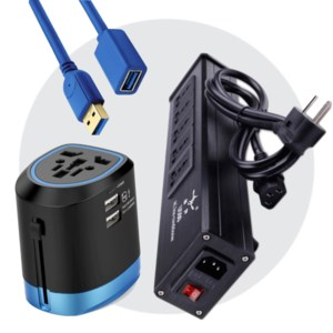 Plugs, Cables & Cords